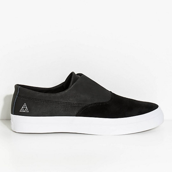 cc2dc46244ee HUF Other - New HUF Dylan Slip-On Black
